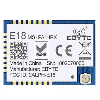 E18-ms1pa1-ipx Cc2530 2.4ghz، وحدة Uart Io Pa 20dbm 100mw، الارسال و