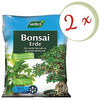 Spar: 2 x WESTLAND® Bonsai Earth, 4 liter