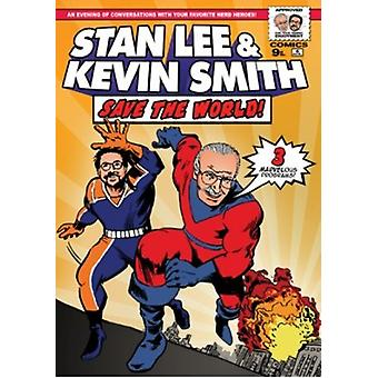 Stan Lee & Kevin Smith Save the World: An Evening [DVD] USA import