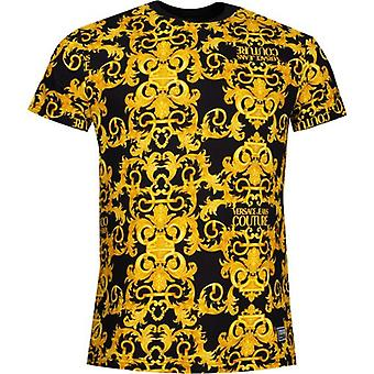 Versace Jeans Couture All Over Barok Print T-Shirt