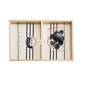 Foosball, Table And Hockey Game Catapult Chess Parent - Puck Board