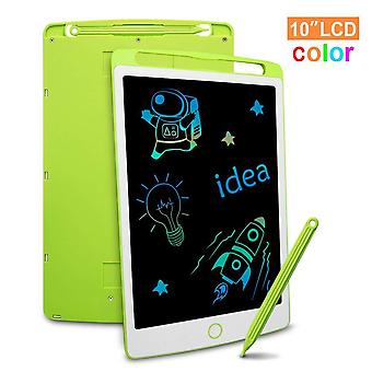 Richgv colourful lcd writing tablet, 10 inch digital ewriter with erase lock switch, electronic grap