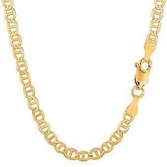 10 k gelb Gold Mariner Link Kette Armband, 5,1 mm