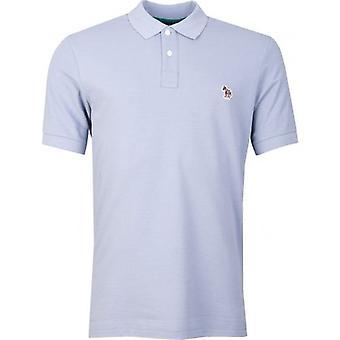 Paul Smith kurzen Ärmeln Zebra Pique Polo-Shirt