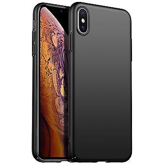 """Iskunkestävä kova kotelon kansi Apple iPhone XI Max 6.5 """"- Musta"""