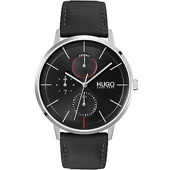HUGO Hugo 1530169 Existem Relógios Homens Negros