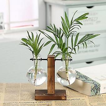 Terrarium Vasevase Decoration Home Bonsai Flower Plant Vases