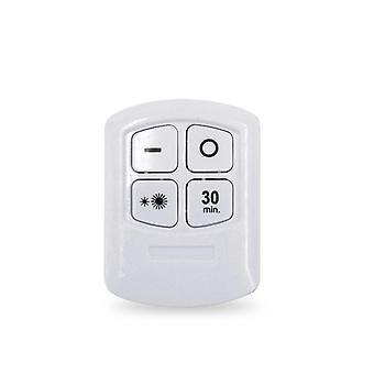 5w led armario luz control remoto ajustable - lámpara para escaleras / cocina /