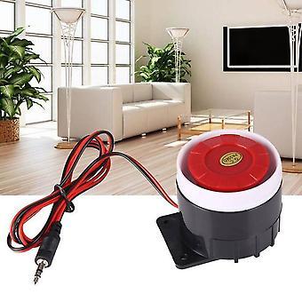 Loud Wired, Mini Indoor, Sirène horn pour la sécurité à domicile, système d'alarme sonore