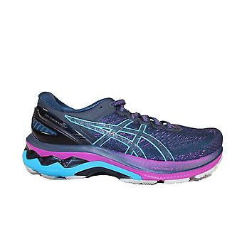 Asics Gel-Kayano 27 French Blue/Aqua Mesh Womens Lace Up Running Trainers