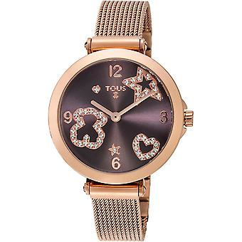 Tous watches icon mesh watch for Women Analog Quartz with stainless steel bracelet 600350385