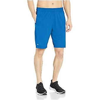 Essentials Men's Tech Stretch Training Kurz, True Blue, Medium