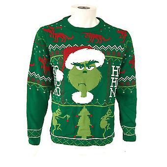 The Grinch Unisex Adult Ho Ho No Sweatshirt