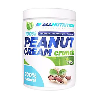 100% Peanut Cream, Crunch 1000 g