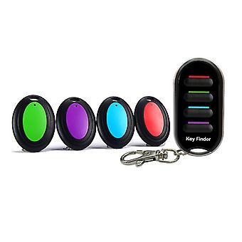 Wireless Key Finder, Anti-lost Alarm Keychain, Led Flashlight For Purse, Pet