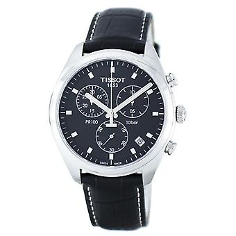 Tissot T-klassikko Pr100 Kvartsi Kronografi T101.417.16.051.00 T1014171605100 Men's Watch