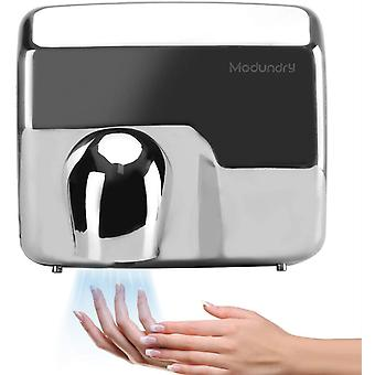 Modundry Hand Dryer Wall Mounted Automatic Electric Heavy Duty Stainless Steel Bathroom Commercial