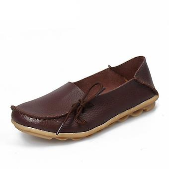 Genuine Leather Female Shoes