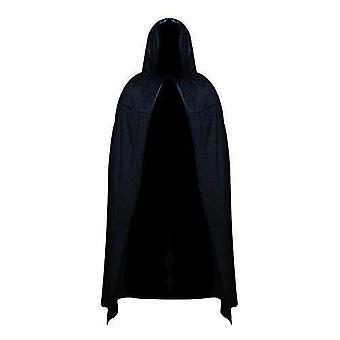 Robelli unisex wartość poliester halloween peleryna - czarny