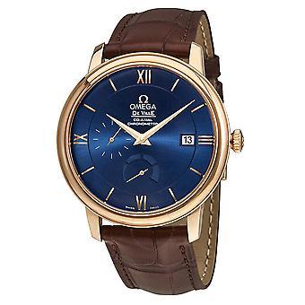 Omega De Ville Prestige Blue Dial Automatic Men's Watch 424.53.40.21.03.002