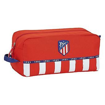 Porte-pantoufle de voyage Atlético Madrid Bleu Blanc Rouge Polyester