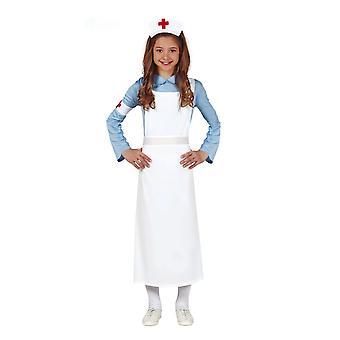 Déguisement infirmière rétro fille