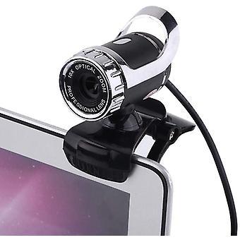 FengChun USB 2.0 Webcam, HD-Webkamera, Links und rechts um 360 Grad und um um 30 Grad Ben und unten