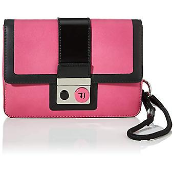Trussardi Jeans with Love Clutch MD ECOLEATHER Woman, P201, NR