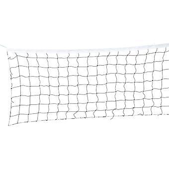 Volleyballnetz 9,5 x 1 m + Tasche – Weiß – Sportnet