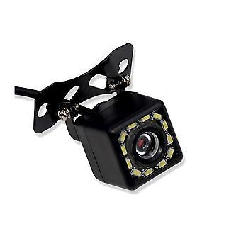 ユニバーサル12 LEDナイトビジョンバックアップ駐車リバースカメラ
