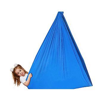 Blue premium indoor yoga sensory hammocks for kids adults outdoor sport dt5523