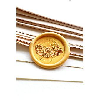 Pine Cone Wax Seal Stempel / pine Branch Wax Seal Stamp Kit