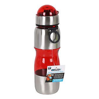 Sports Water Bottle Bewinner Metal Plastic 600 ml