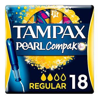 Regular Tampons Pearl Compak Tampax (18 uds)
