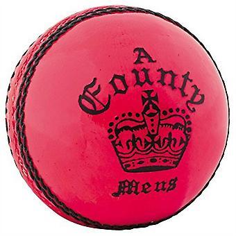 Readers County Crown Cricket Ball Pink - Herren