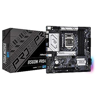 アスロック B560M PRO4, インテル B560, 1200, マイクロ ATX, 4 DDR4, HDMI, DP, RGB, 2x M.2