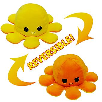 Lohill Funny Double-sided Flip Reversible Octopus Cute Plush Toys Animals Doll Gift