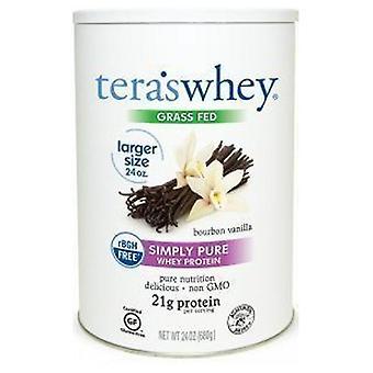 Tera's Whey RBGH Free Whey Protein, Dark Chocolate Cocoa 24 oz