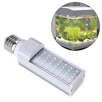 7w E27 Led energy saving lampă pentru a se potrivi toate pod de pește și acvarii fish box (alb)