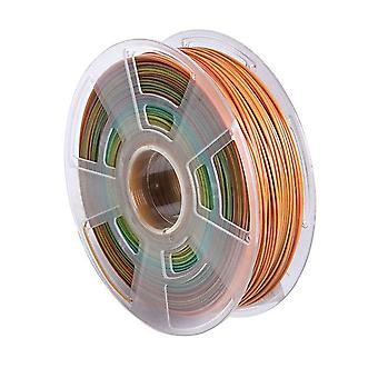 Diy 3d printer filament pla 1.75mm 1kg /roll multi kleuren 3d afdrukken pen plastic draad rubber verbruiksartikelen materialen 100g monster