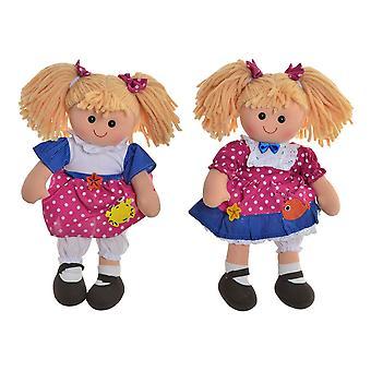 Rag Doll DKD Home Decor (2 pcs) (24 x 10 x 35 cm)