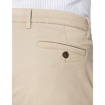 Goodthreads Miehet&s Suora-Fit Pesty Stretch Chino Pant, Khaki, 38W x 32L