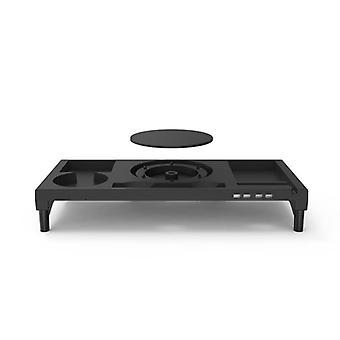 Sklisikker desk riser med 4-porters usb lader for imac Macbook Pro Air