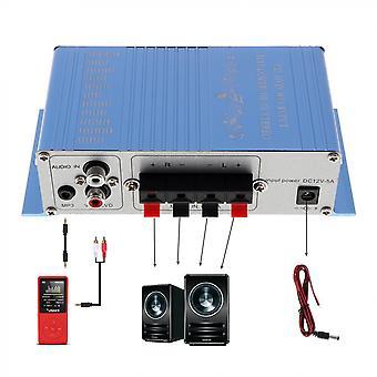 Entrée Mp3 Hi-fi Stéréo Audio Bass Car Speaker, Amplificateur, Caisson de basses