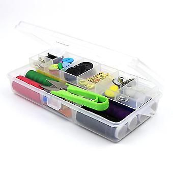 Портативный швейный комплект Бытовой Многофункциональный швейный комплект ручной швейной инструмент хранения Box