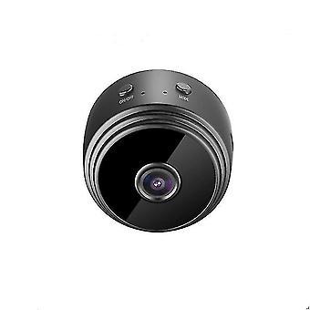 Mini Caméra 1080p Full Hd Wifi Ip Caméscope IR Vision Nocturne (NOIR)