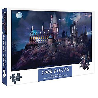 Jigsaw Paper Puzzles Educational Intellectual 1000 Pieces DIY Game Toys Gift