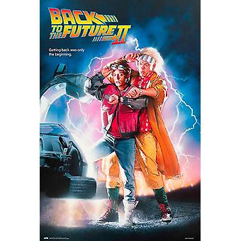 Zur3ck in de toekomst II poster Michael J. Fox, Christopher Lloyd 91,5 x 61 cm