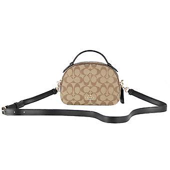 Serena signatur läder liten väska väska väska awo77159