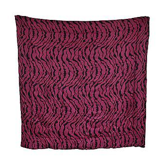 Kuuma pinkki ja musta Zebra Stripe lohduttaja täysi/Queen